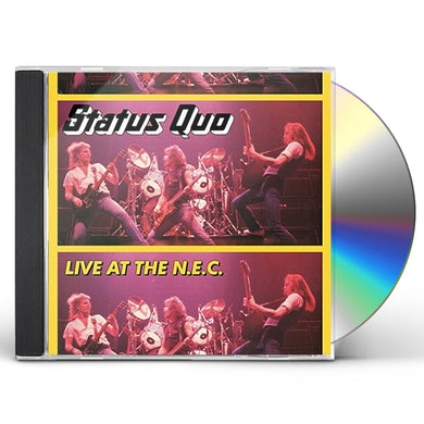 Status Quo LIVE AT THE N.E.C CD