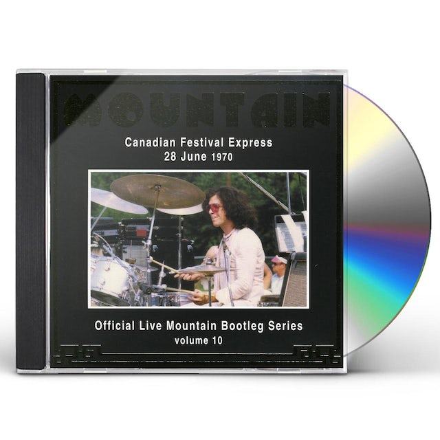 Mountain CANADIAN FESTIVAL EXPRESS 1970 10 CD