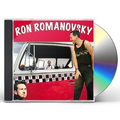 Ron Romanovsky PITTSBURGH TO PARIS CD