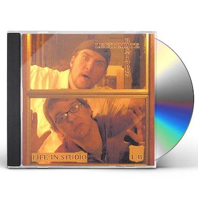 Legitimate Bastards LIFE IN STUDIO CD