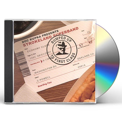 Strokeland Superband BUMPED UP TO FIRST CLASS CD