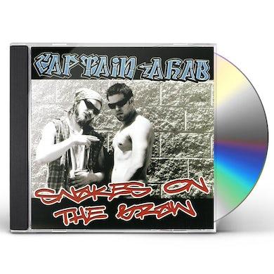 Captain Ahab SNAKES ON THE BRAIN CD