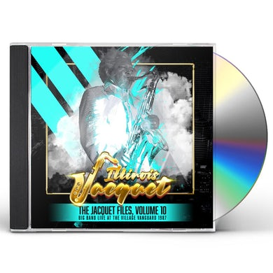 Jacquet Files: Vol. 10 (Big Band Live At The Village Vanguard 1987) CD