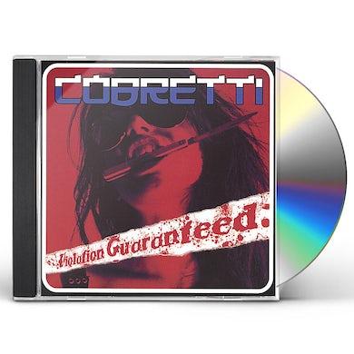 VIOLATION GUARANTEED CD