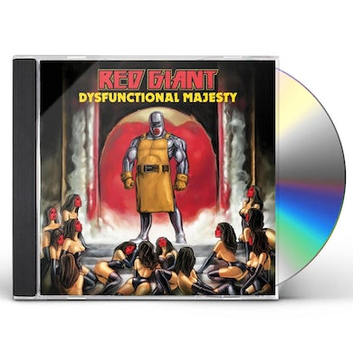 Red Giant DYSFUNCTIONAL MAJESTY CD