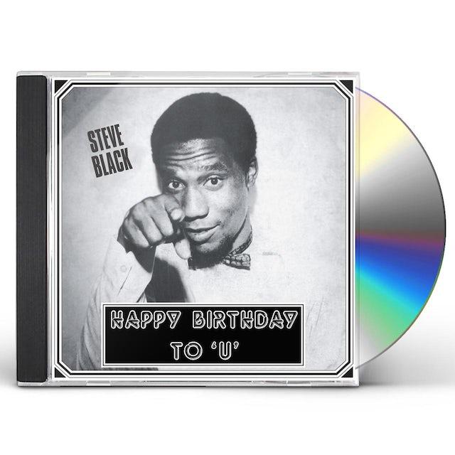 Steve Black HAPPY BIRTHDAY TO U CD