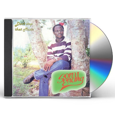 Sony Enang DON'T STOP THAT MUSIC CD