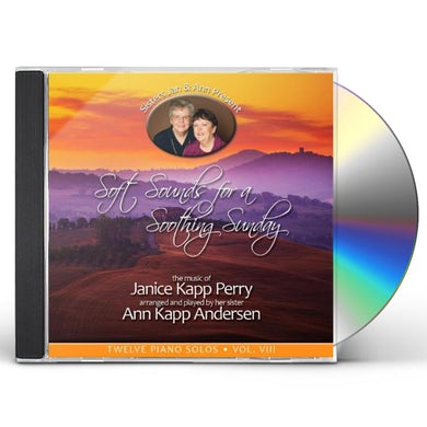 Janice Kapp Perry SOFT SOUNDS FOR A SOOTHING SUNDAY 8 CD