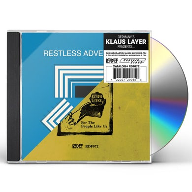 RESTLESS ADVENTURES / FOR THE PEOPLE LIKE US CD