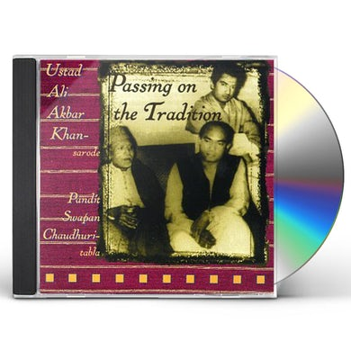 Ali Akbar Khan PASSING ON THE TRADITION CD