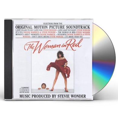 Stevie Wonder  WOMAN IN RED O.S.T. CD
