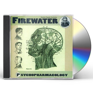Firewater PSYCHOPHARMACOLOGY CD