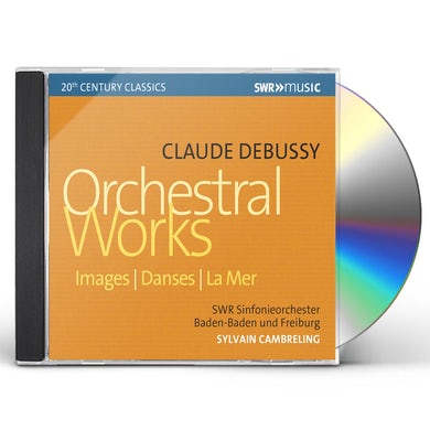 Debussy ORCHESTRAL WORKS CD