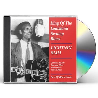 Lightnin Slim KING OF THE LOUISIANA SWAMP BLUES CD