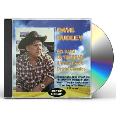 Dave Dudley SIX DAYS ON THE ROAD CD