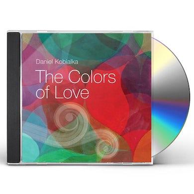 Daniel Kobialka COLORS OF LOVE CD