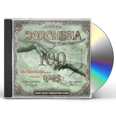 Borghesia & MAN CREATED GOD CD
