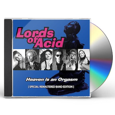 Lords Of Acid HEAVEN IS AN ORGASM CD