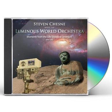Steven Chesne MOMENTS FROM THE LIFE STORIES OF STRANGERS PT. 1 CD