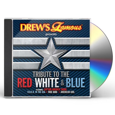 Drew's Famous TRIBUTE TO THE RED WHITE & BLUE CD