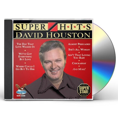 David Houston SUPER HITS CD
