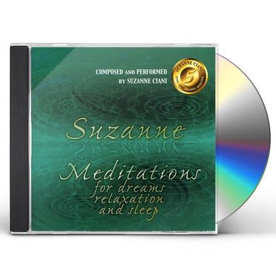 Suzanne Ciani  MEDITATIONS FOR DREAMS RELAXATION & SLEEP CD