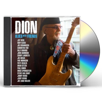 Dion Blues With Friends CD