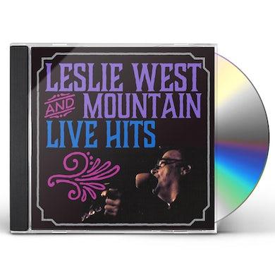 Leslie West LIVE HITS CD
