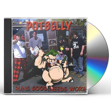 Potbelly RUNS GOOD NEEDS WORK CD