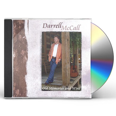 Darrell McCall OLD MEMORIES & WINE CD