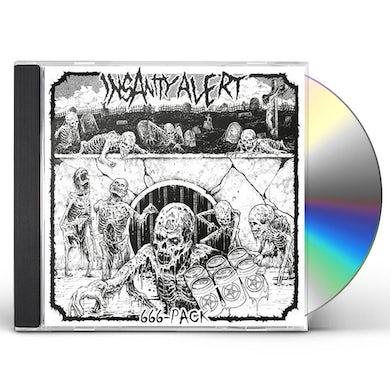 Insanity Alert 666-Pack CD
