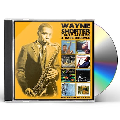 Wayne Shorter EARLY ALBUMS & RARE GROOVES CD