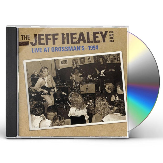 Jeff Healey LIVE AT GROSSMANS 1994 CD