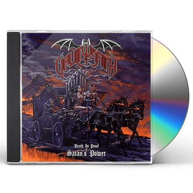 Vaultwraith DEATH IS PROOF OF SATAN'S POWER CD