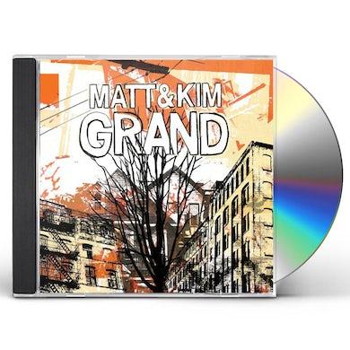 Matt & Kim GRAND CD