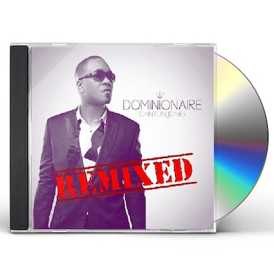 Canton Jones DOMINIONAIRE REMIXED CD