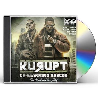 Kurupt FRANK & JESSY JAMES CD