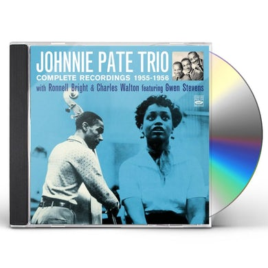 Johnny Pate COMPLETE RECORDINGS 1955-56 CD