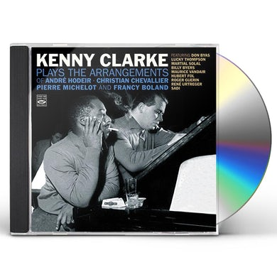 Kenny Clarke PLAYS ARRANGEMENTS OF ANDRE HODIER / PIERRE CD
