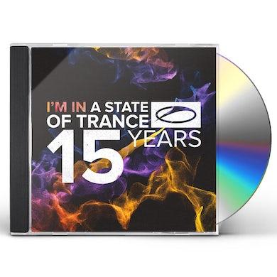 Armin van Buuren STATE OF TRANCE: 15 YEARS CD