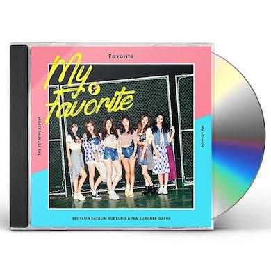 MY FAVORITE CD