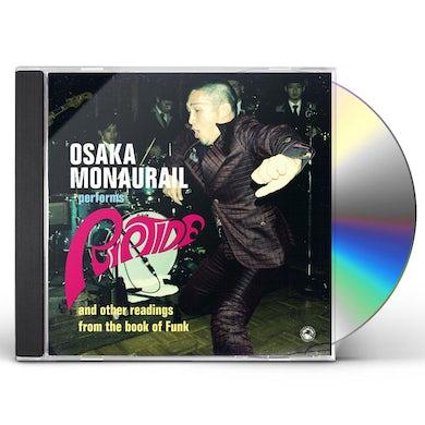 Osaka Monaurail RIPTIDE CD