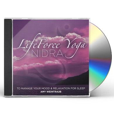 Amy Weintraub LIFEFORCE YOGA NIDRA MANAGE YOUR MOOD & RELAXATION CD