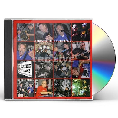 Rocking Chairs T.R.C. LIVE CD