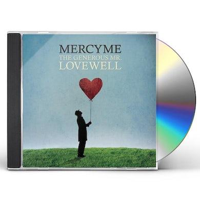 MercyMe GENEROUS MR LOVEWELL CD