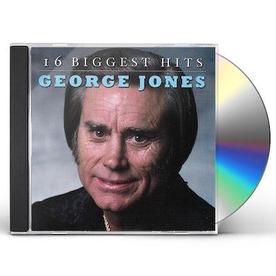 George Jones 16 BIGGEST HITS CD