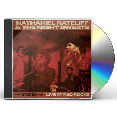Nathaniel Rateliff & The Night Sweats  LIVE AT RED ROCKS CD