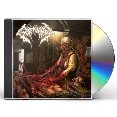 Gortuary MANIC THOUGHTS OF PERVERSE MUTILATION CD