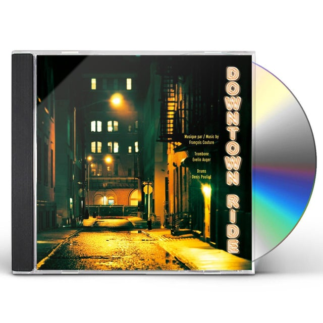 Francois Couture DOWNTOWN RIDE CD