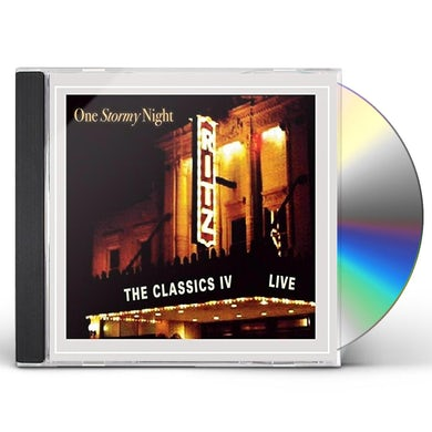 Classics IV ONE STORMY NIGHT: LIVE AT THE RITZ CD